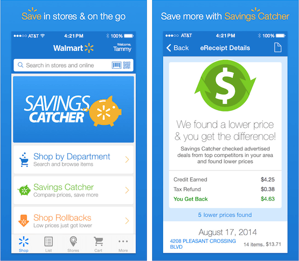does walmart price match digital coupons