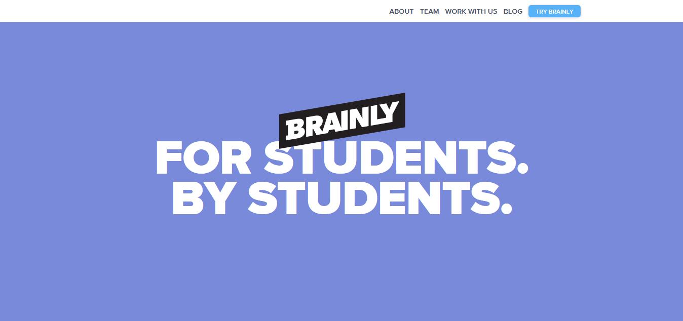 brainly edtech