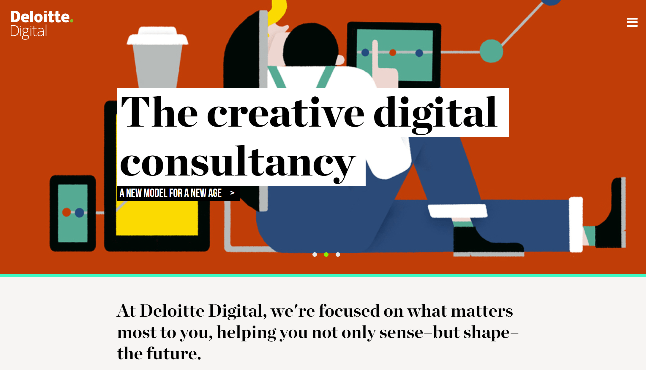 Deloitte X : How to Reinvent Consulting – Digital Innovation
