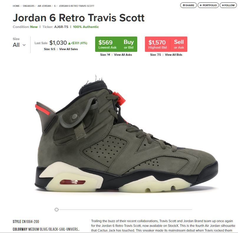 StockX – Trading Exchange for Sneakers