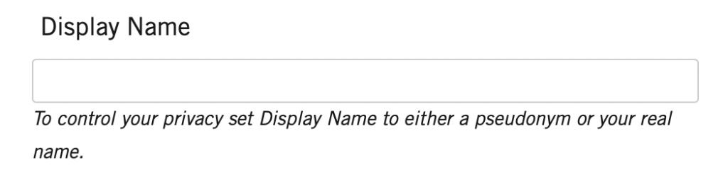 Platform_Student_Registration_Display_Name