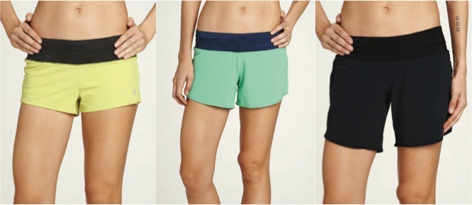 "Among their signature shorts offerings are ""Mac Rogas"" (left, in yellow), named after Marketing Direct Sarah Mackay."