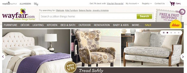 Wayfair Com Not Your Daddy S Furniture Store Technology And