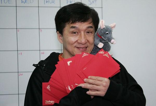 Be a good friend. Be like Jackie Chan. Give out hongbao.