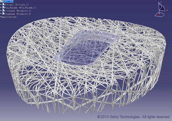 From Paper to Parametric Vectors: Gehry's Transformation of