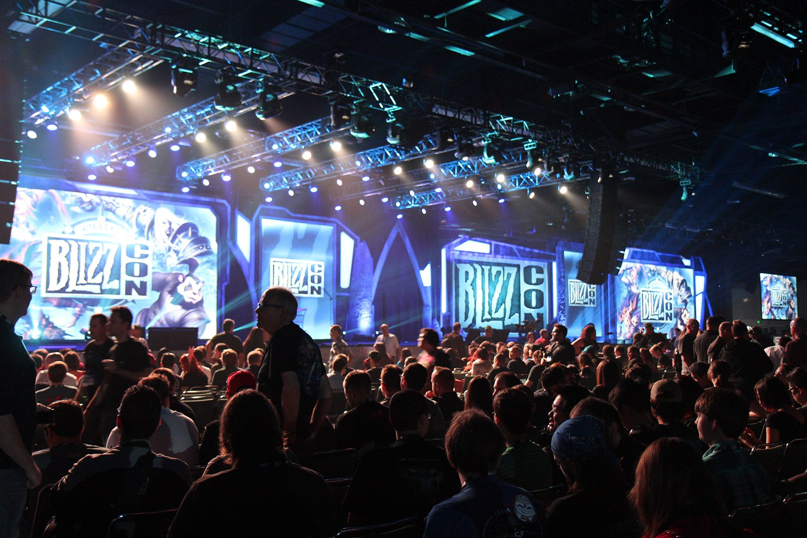 Fans at BlizzCon 2015.