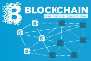 Blockchain technology allows records to be collectively owned and managed across a network. Image courtesy of WSJ.
