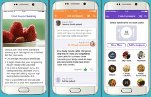 Screenshots from BlueStar App