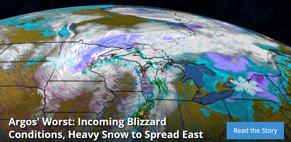Incoming Blizzard