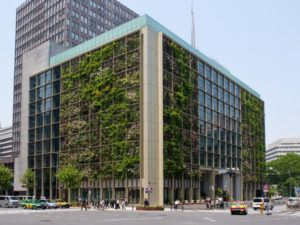 Pasona HQ in downtown Tokyo.