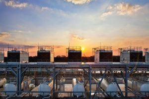 Rooftop Cooling Towers for a Google Data Center