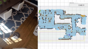 Roomba's house map
