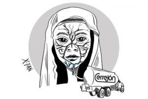 Cartoon by Colombian cartoonist Xtian, November 3rd 2016