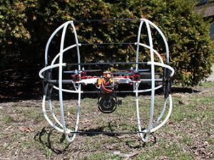 Drone Used By Commonwealth Edison to Inspect Power Lines. Image Credit: Matthew Spenko, Illinois Institute of Technology. Retrieved from