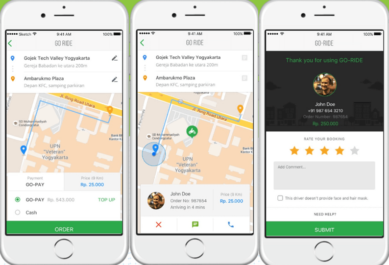 GO-JEK: Motorbike taxi changing the landscape in Indonesia