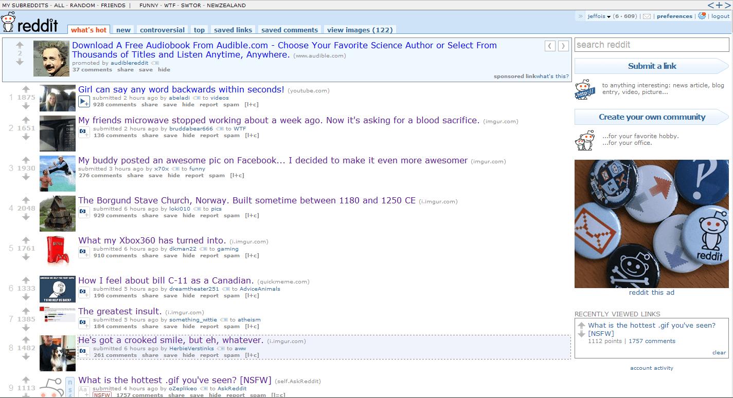 reddit-frontpage