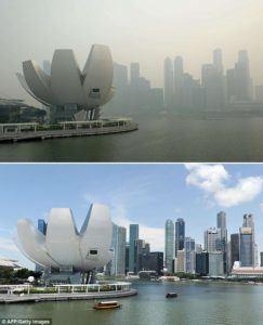 Singapore in 2015 haze
