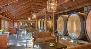 Tasting room at Joseph Phelps Vineyards