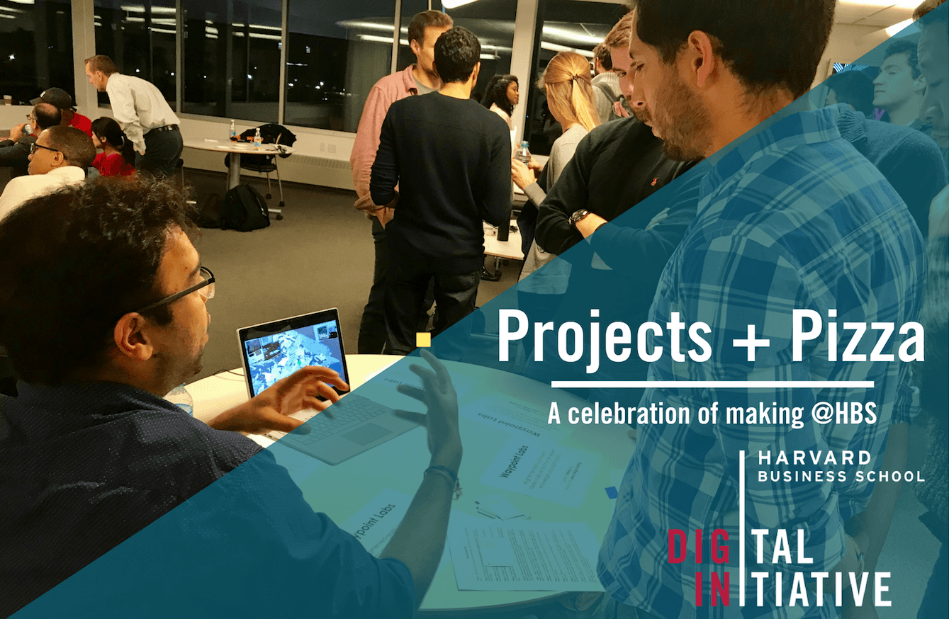 Projects + Pizza