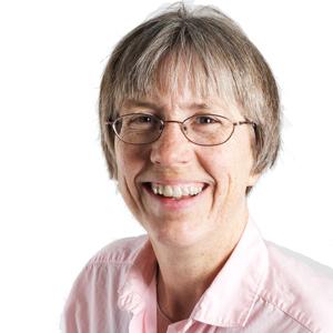 Susan Helper, headshot