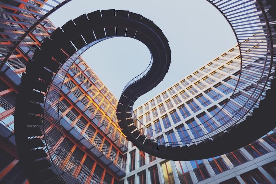 geometric staircase