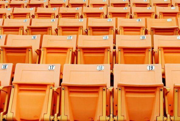 Sports venue seats