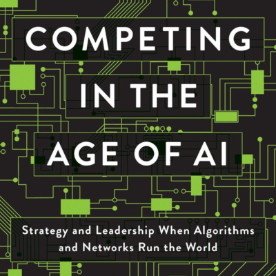 Cover of new AI book
