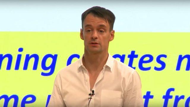 Andrei Hagiu presenting