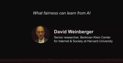 What fairness can learn from AI