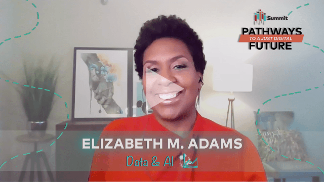 Elizabeth M Adams thumbnail with play triangle